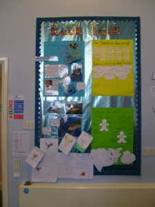 Book Board in Year 5