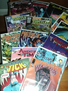 A selection of new comics